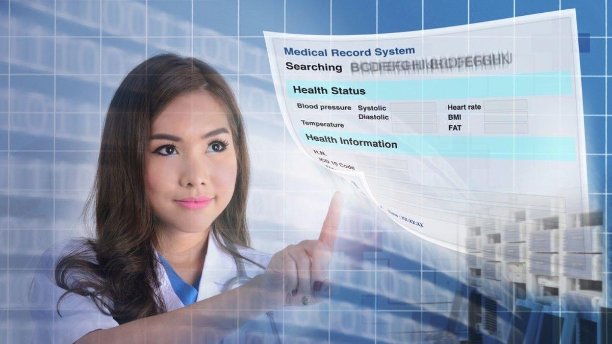 Ilustrasi Medical Informatics