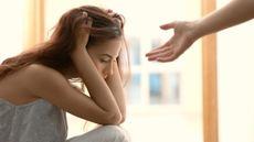 Ilustrasi Pasangan yang Sedang Depresi