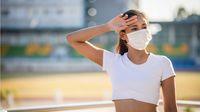Coba Ikuti, Ini Cara Menggunakan Masker saat Musim Panas Tiba