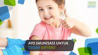 Ayo Imunisasi Untuk Cegah Difteri