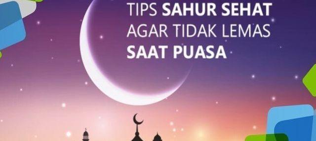 Tips Sahur Sehat