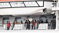 Penyebaran Coronavirus di Kapal yang Dikarantina di Yokohama, Jepang