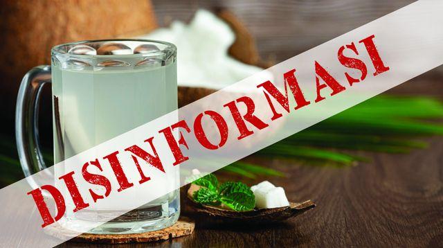 Medfact: Anjuran Minum Air Kelapa untuk Menetralkan Vaksin COVID-19