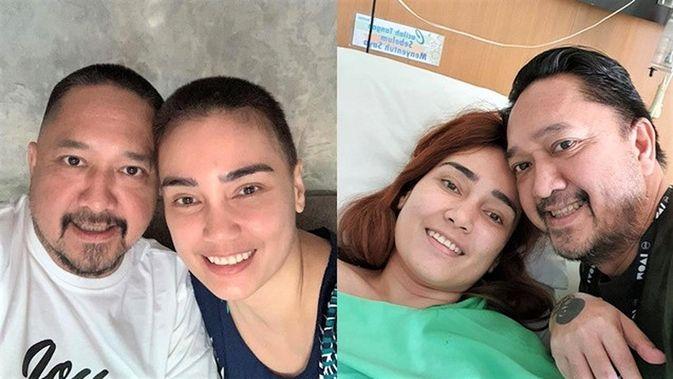 Idap Kista Ovarium Feby Febiola Jalani Kemoterapi