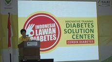 Menkes Luncurkan Gerakan Indonesia Lawan Diabetes