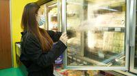 Ilustrasi Virus Corona Ada di Frozen Food